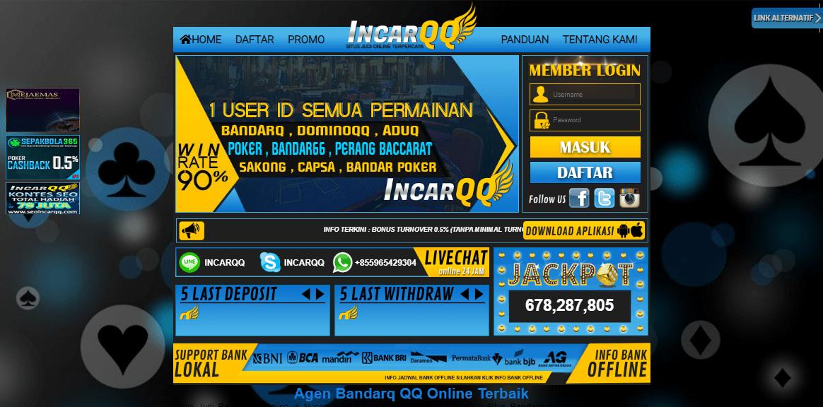 IncarQQ Situs QQ Online Terbaru dan Terpercaya